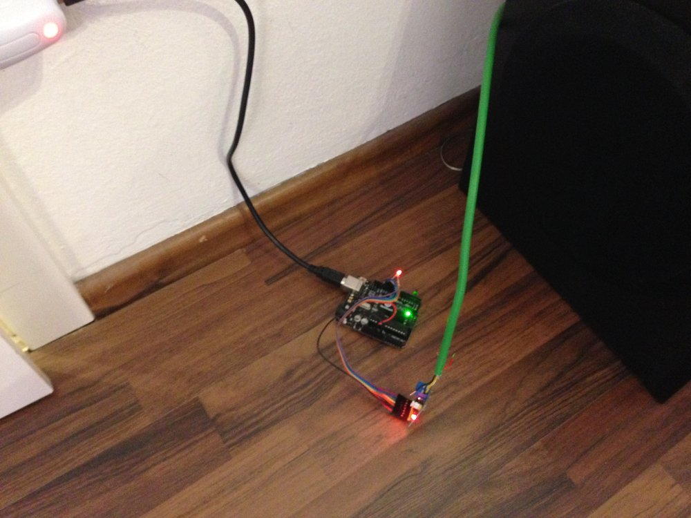 A prototype node based on an Arduino Uno Clone
