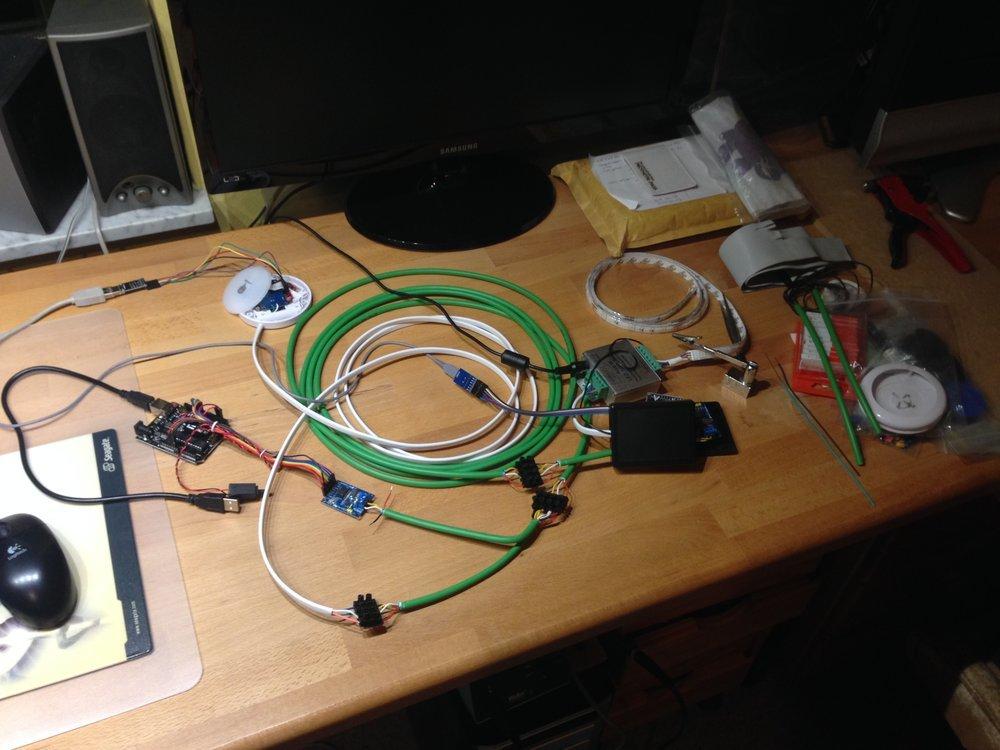 My experimental development network