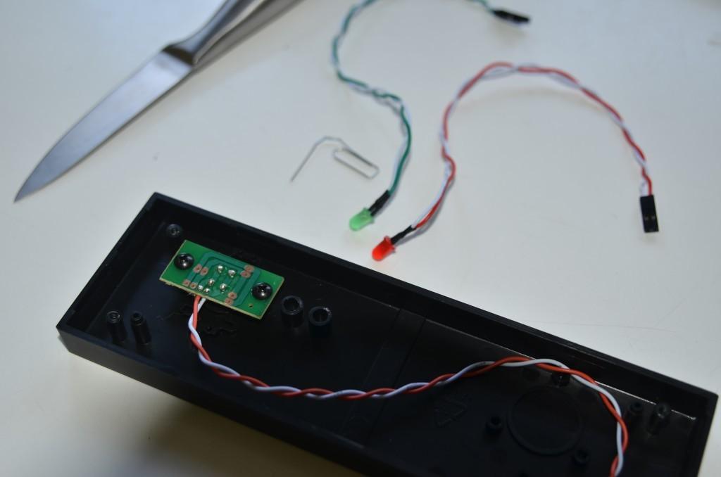 Entfernte LEDs aus Chieftec-Gehäuse