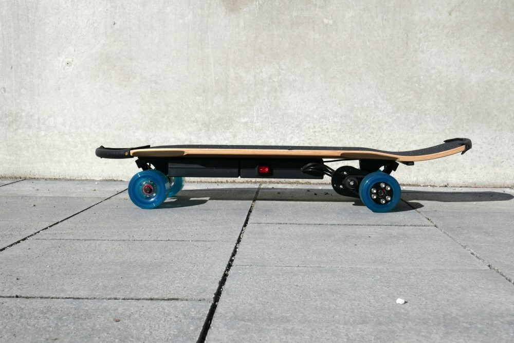 The side view of the electric board