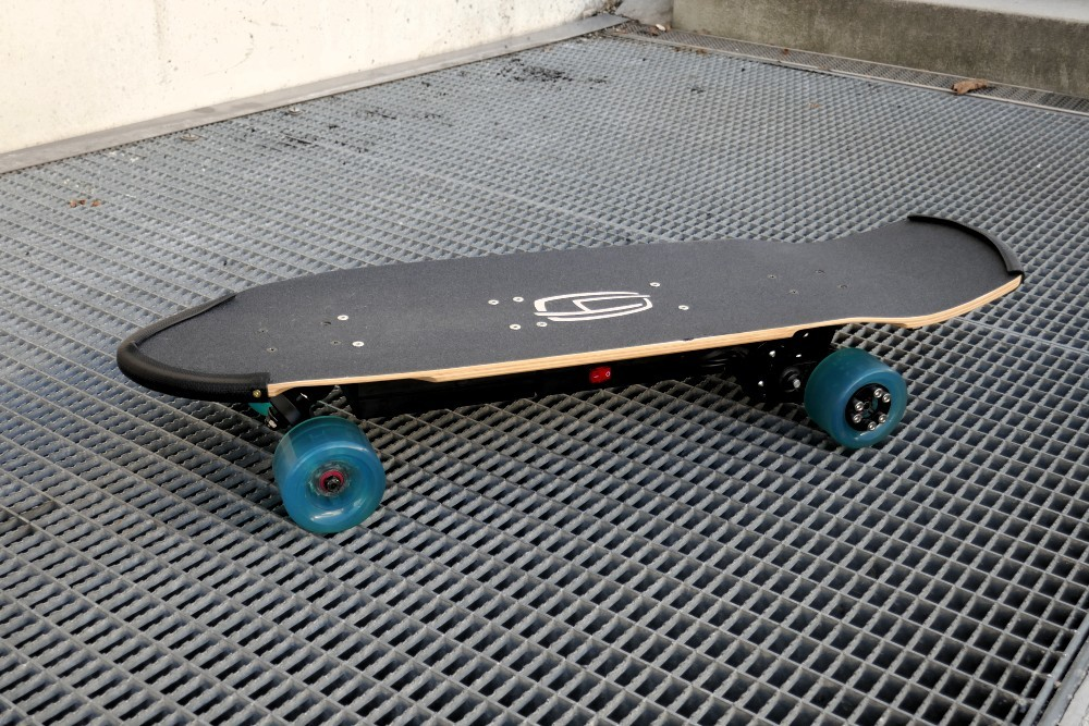 The top side view of the electric board