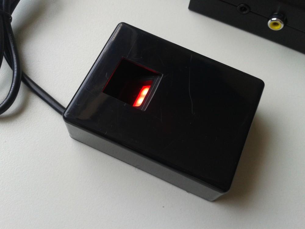 Fingerprintsensor mit Raspberry Pi Detail
