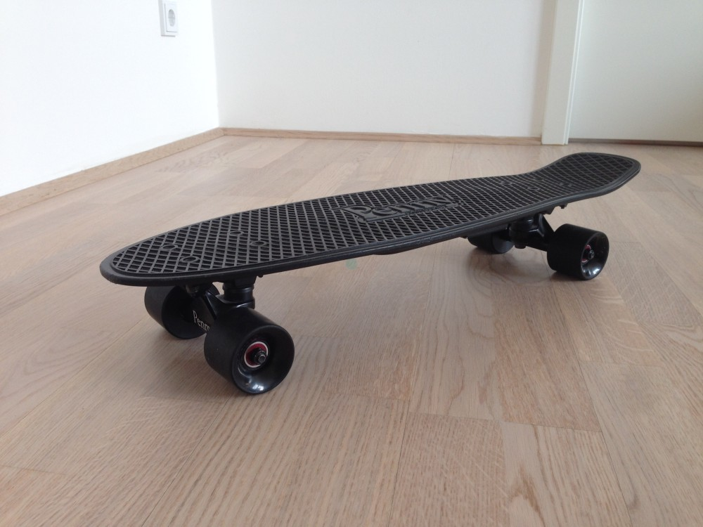 The Pennyboard Blackout from top side