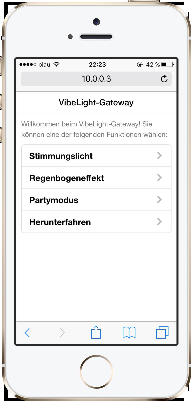 Web-App Übersicht