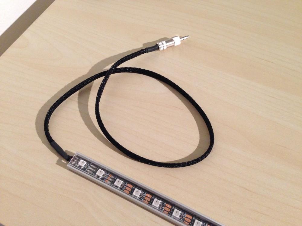 Absteckbarer WS2812B-LED-Streifen